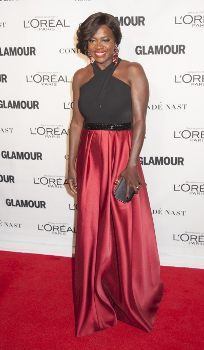 Viola Davis red carpet style 2015 Glamour Women of the Year awards