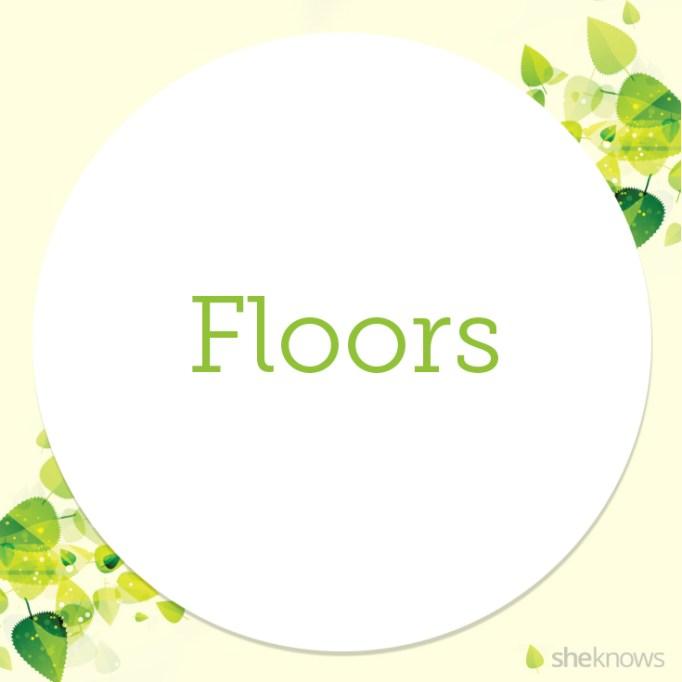 Cruelty-free floor cleaner slide