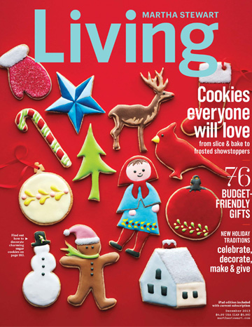 Martha Stewart Living December 2013 issue