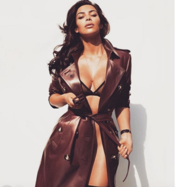 Kim Kardashian jacket GQ