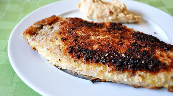 Tonight's Dinner: Pecan-crusted Tilapia