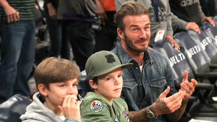 David Beckham's 'little man' gives Anna