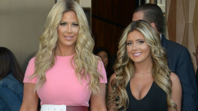 Kim Zolciak accused of pushing her