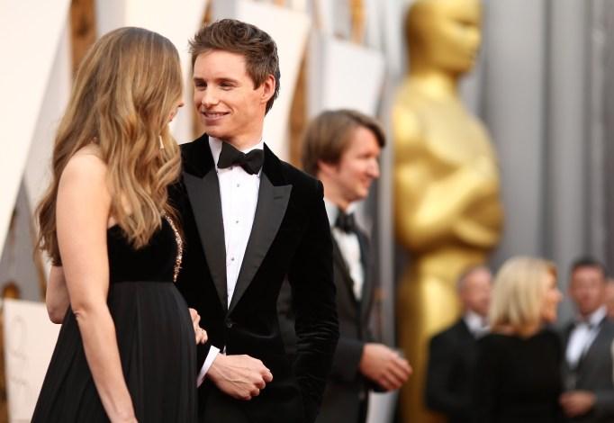 Hannah Redmayne & Eddie Redmayne Oscars 2016