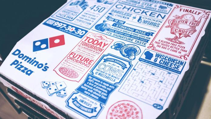 Domino's Fifty Shades-inspired ad makes us