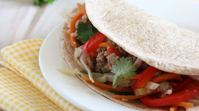 Add an Asian twist to taco