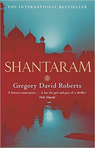 Cover of the book 'Shantaram'