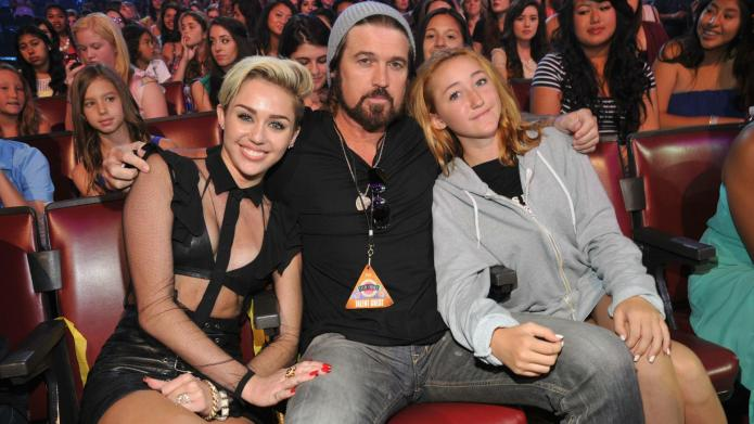 Miley Cyrus tasks little sis with