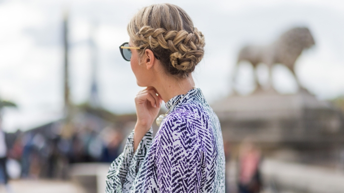 21 Gorgeous Braided Updos to Inspire