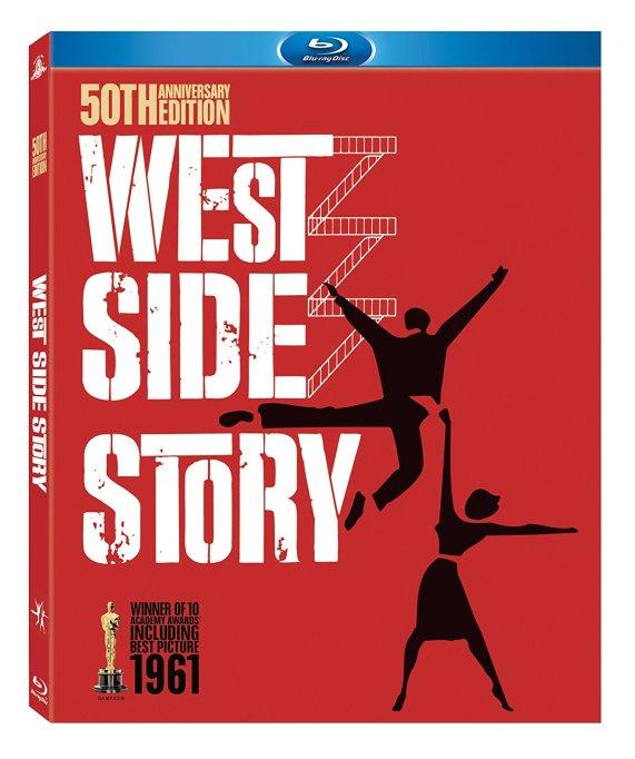 'West Side Story' DVD art