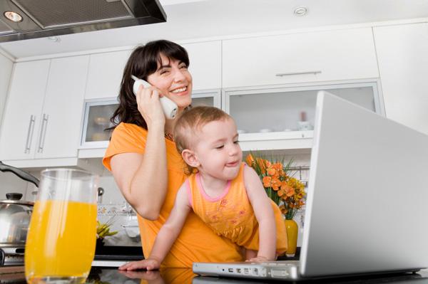 Multitasking Mother