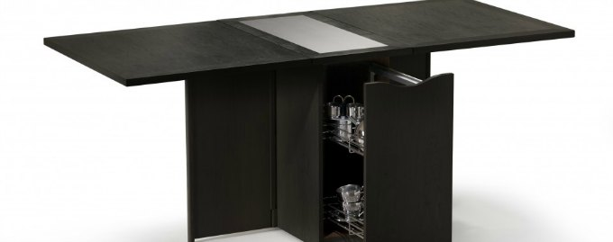 multipurpose convertible dining table prep table and bar