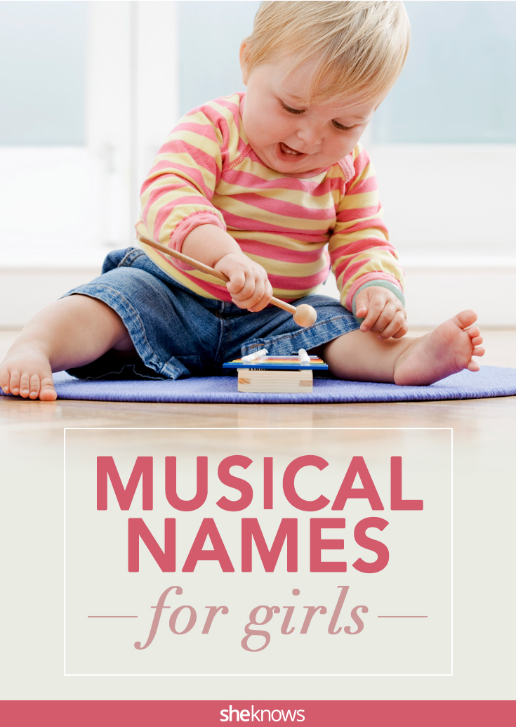 these musical names for baby girls have got serious rhythm sheknows