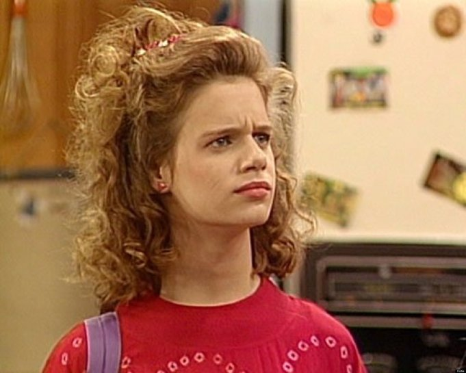 Andrea Barber on Full House