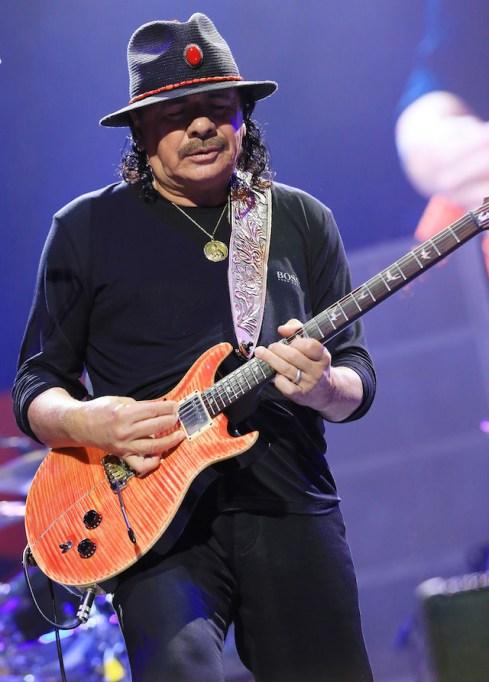 Celebs who love weed: Carlos Santana