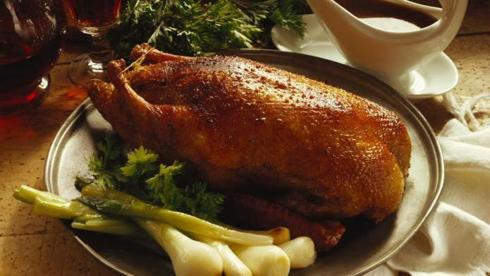 Duck recipe for the winter holidays