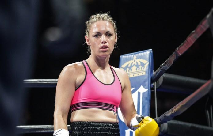 Boxer Heather Hardy kicks ass, and
