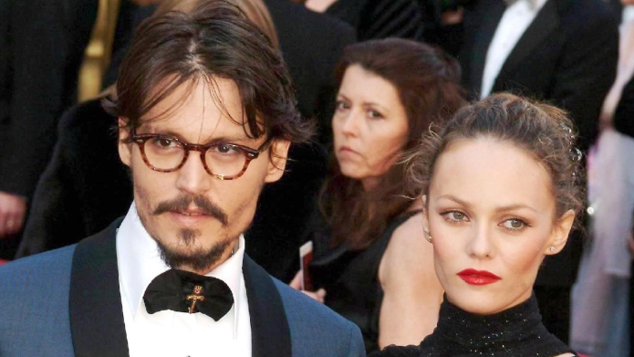 JOHNNY DEPP's seven-year-old daughter LILY-ROSE is
