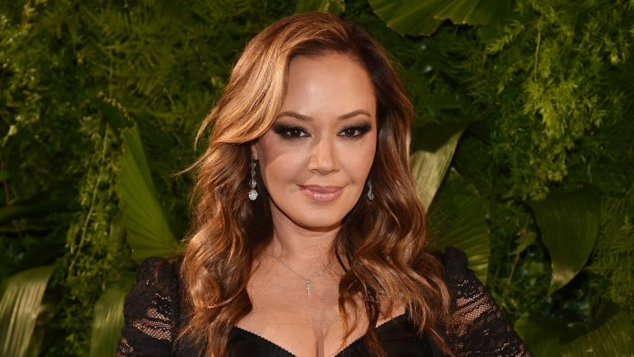 Leah Remini Takes Her Daughter's Breakfast