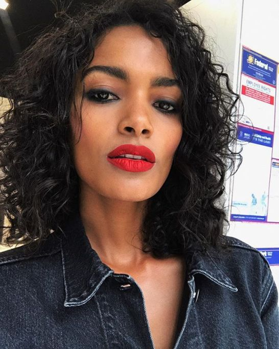 Model-Approved Hairstyle Ideas to Copy This Summer: Nadia Araujo's natural curls   Summer Hair