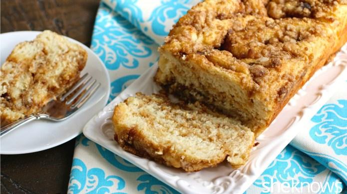 Brown sugar and cinnamon babka makes