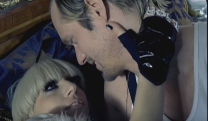 Alexander Skarsgard in Lady Gaga's Paparazzi