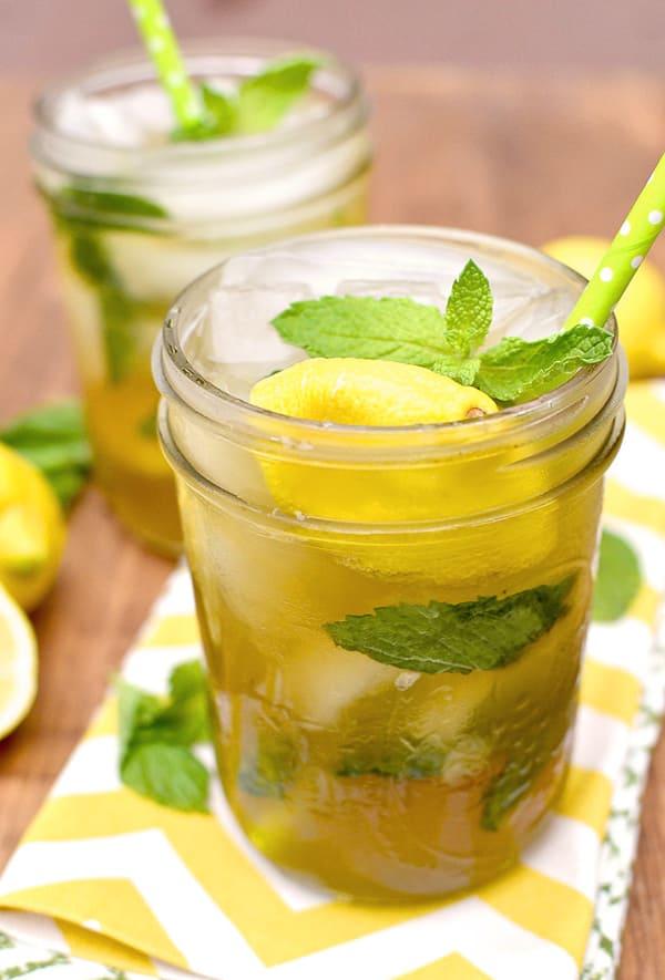 Summer Iced Tea Cocktail Recipes: Sweet tea vodka lemonade mojitos