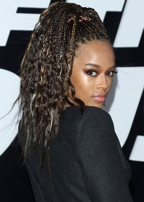 Best Celebrity Braids: Serayah | Celeb Hair Inspo 2017