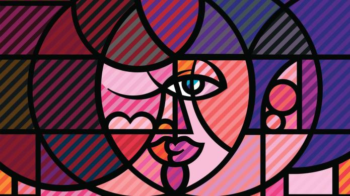 Abstract art by Pablo Picasso that