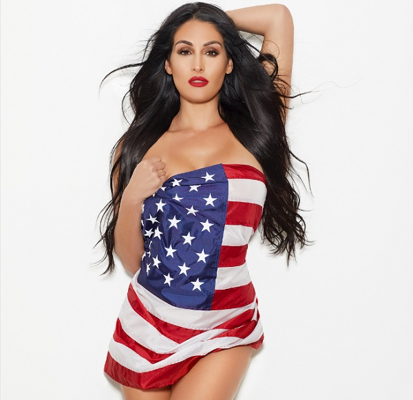 Celebrities Celebrating Independence Day: Nikki Bella