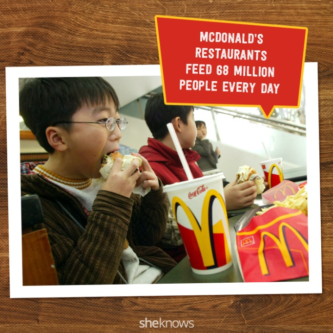 Fun Facts on Mcdonald's. McDonald's celebrates its 75th anniversay on May 15, 2015.