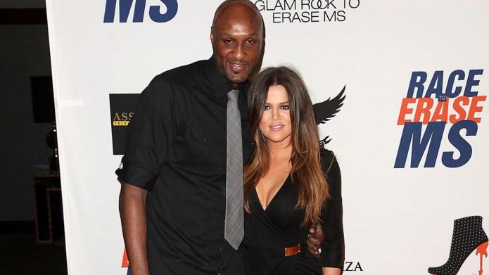 Lamar Odom, Khloé Kardashian seen getting