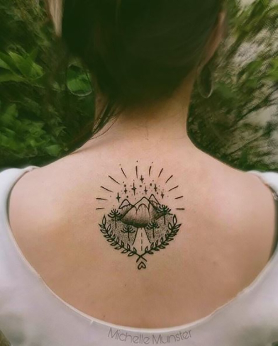 Best Wanderlust Tattoos: The Mountains Are Calling