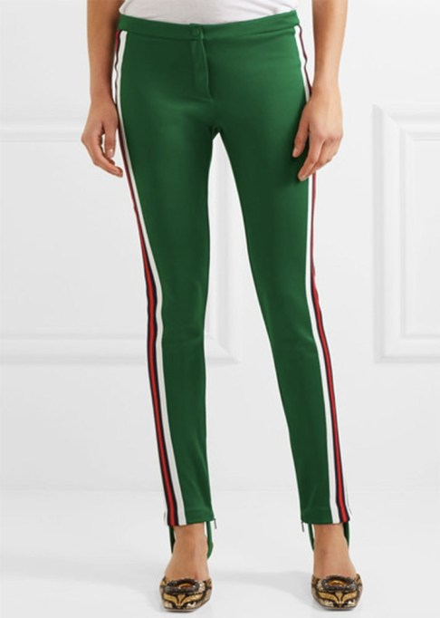 Track Pants to Shop Now: Gucci Striped Jersey Leggings | Summer Fashion Trends 2017
