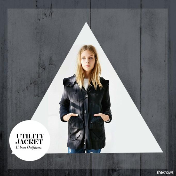 Fall utility jacket
