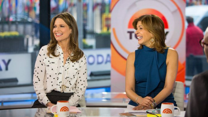TODAY -- Pictured: Savannah Guthrie and