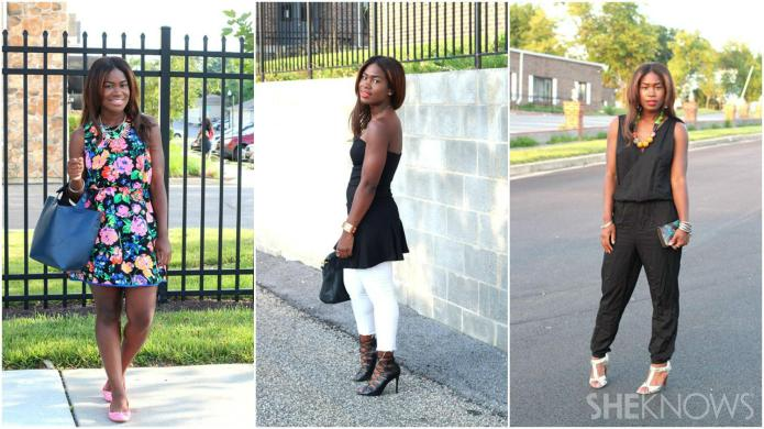 The closet remix: 3 Pieces styled