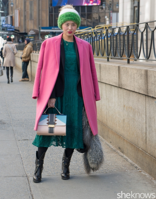 Céline jacket, Frye bag
