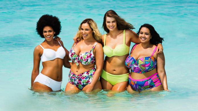 New plus-sized swimsuit calendar proves women