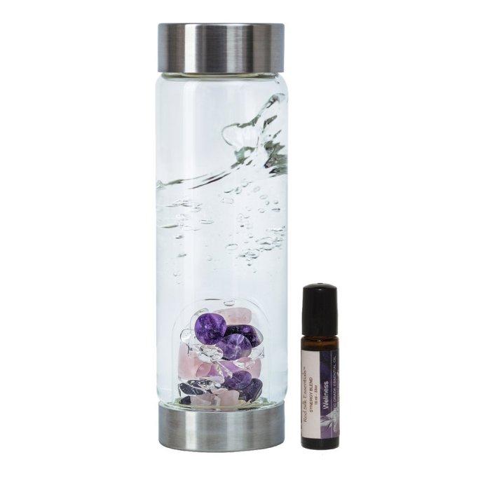 VitaJuwel Wellness Gemstone Water Bottle