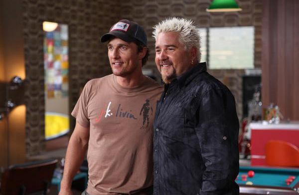 """Guy's Big Bite"" with Matthew McConaughey"