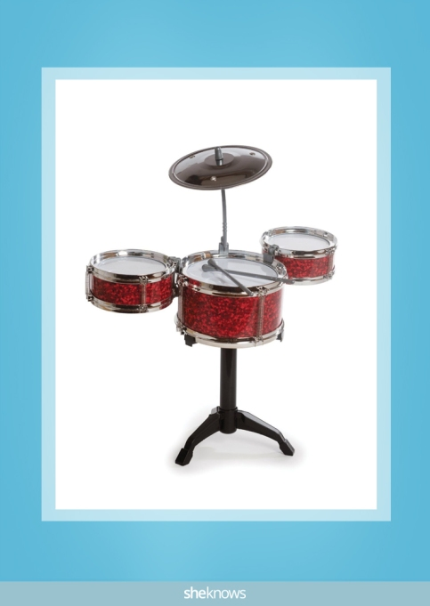Westminster desktop drum set