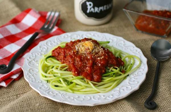 Meatless Monday: Zucchini 'spaghetti' with easy