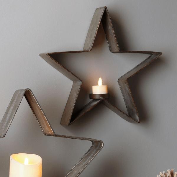 Star Light Candle Holder