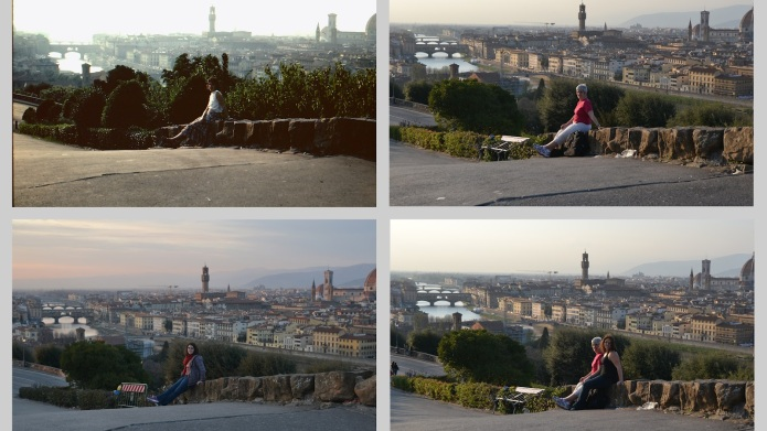 Woman recreates her mom's 30-year-old travel