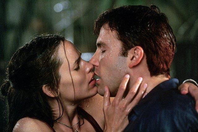 movie kisses Daredevil