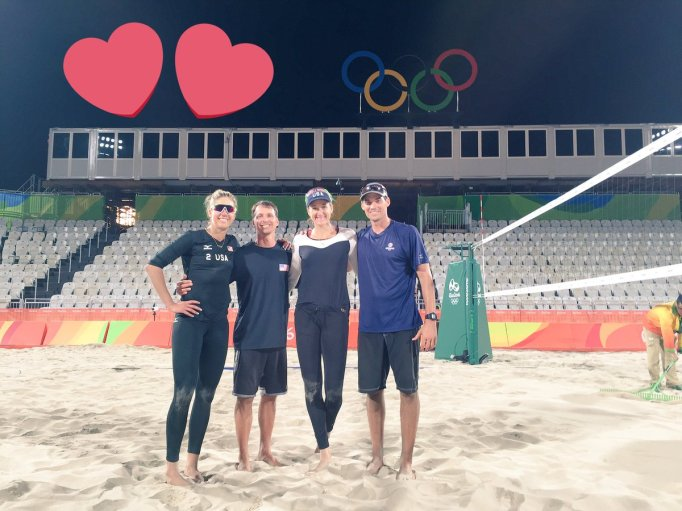 Olympic Beach Volleyball