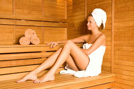 Get steamy: saunas, steam rooms, and