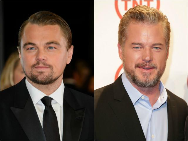 Leonardo DiCaprio and Eric Dane