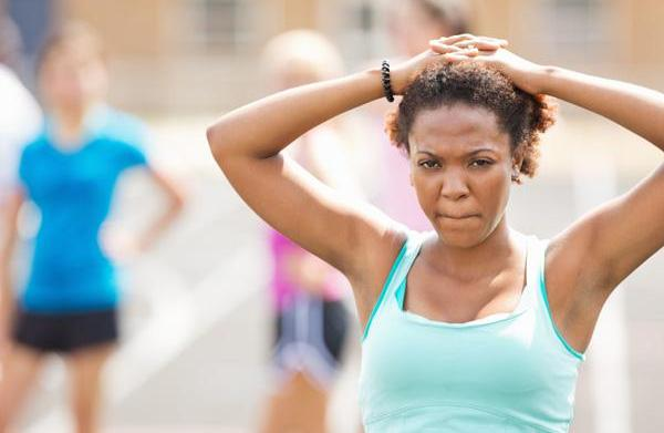 Guess what? Exercise can cause your